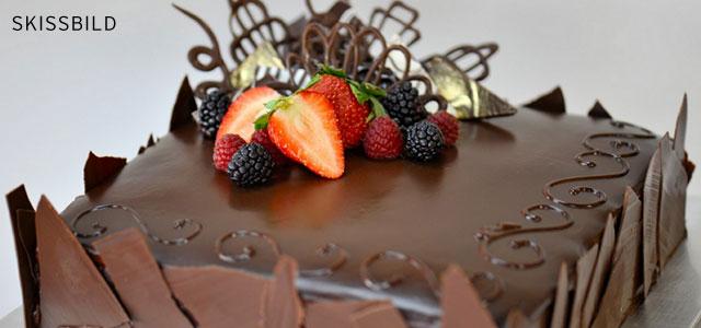 Lyxig chokladmoussetårta
